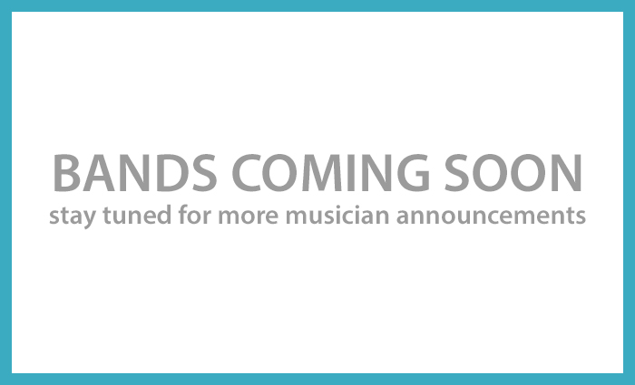 Bands coming soon